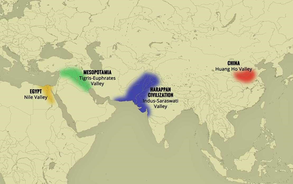 Ancient India Map Harappa.Which Is The Largest Site Of Indus Civilization Quora