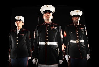 if the usmc uniforms medals and all that are bought and payed for