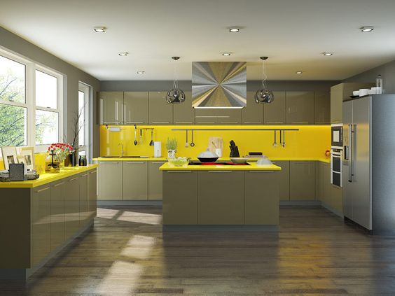 What Colour Should I Choose For A L Shaped Small Modular Kitchen With Low Sunlight Quora