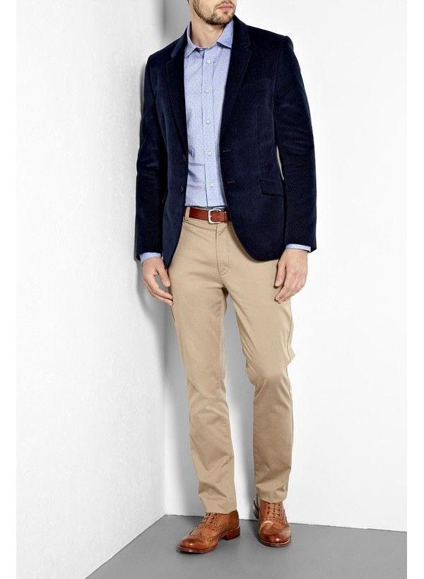 d0175d5d9d13 How to match a black sport coat with khaki pants - Quora