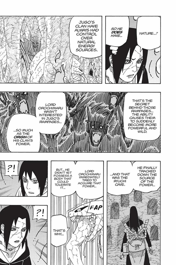 Is Orochimaru constantly in Sage Mode? - Quora