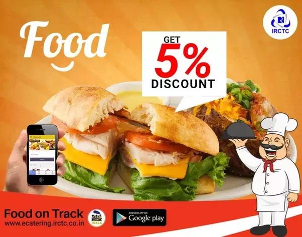 Qual é a sua experiência com reservas de comida on-line no trem indiano?