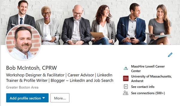 How To Update My Background Image On My Linkedin Profile Quora