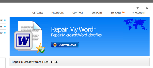 How to edit a corrupt word document I downloaded online - Quora
