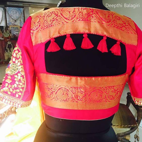 What Are The Blouse Designs For A Silk Saree Quora