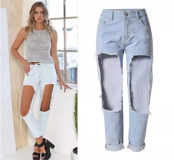 b3ac0a17aa436d Why should we wear ripped jeans and what is wrong with normal jeans ...