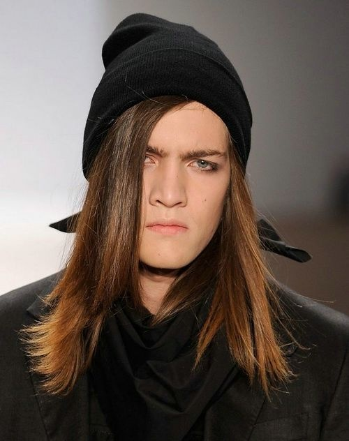 What hats would be attractive on men with long hair  - Quora 16fed9d73bb