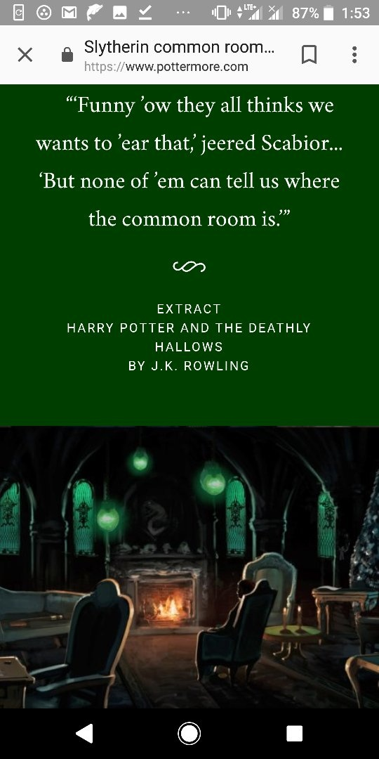 Which Is The Coolest Common Room Of Hogwarts Quora This is the student common room, located next to the student room halls. which is the coolest common room of