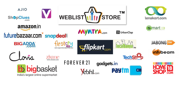 What are the top 10 fashion shopping sites in india quora for Online shopping websites list