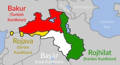 If a Kurdish state emerges out of the conflict in SyriaIraq how