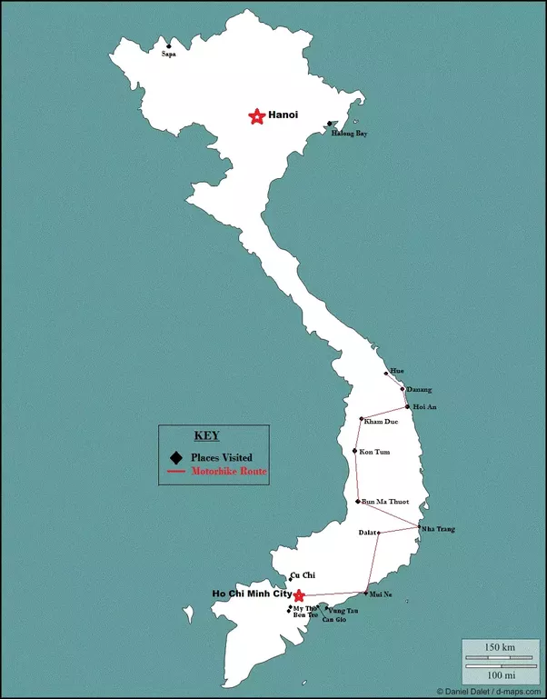 How to plan my 8 10 day backpacking trip to vietnam from india with it is immediately apparent that vietnam is a pretty long country to give you a rough idea a pretty much nonstop bus from hanoi in the north to saigon gumiabroncs Choice Image