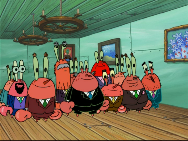 Why is Mr  Krabs the only crab in Bikini Bottom? - Quora