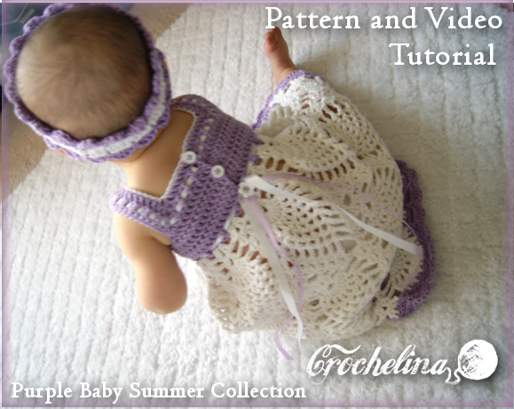 What Are Some Cute Crochet Patterns For A Baby Dress Quora