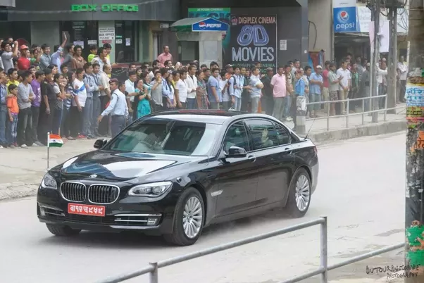 It is used for vehicles which seats the President of India and various  State Governors. Such a vehicle replaces the license number with the Emblem  of India.