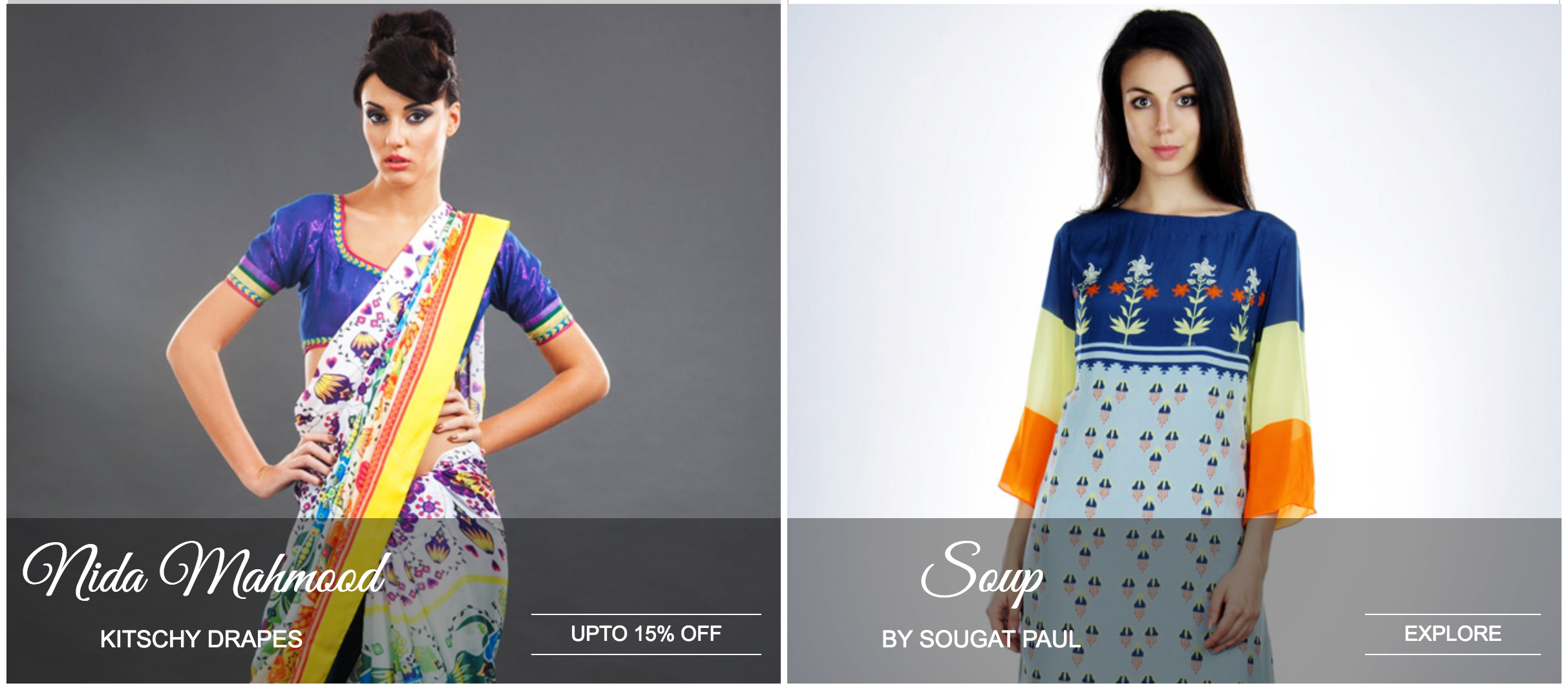 a2ec16c74a 6) Top Ethnic: Top Ethnic is a unique online shopping portal in India to  showcase finest Women Ethnic Wear online.