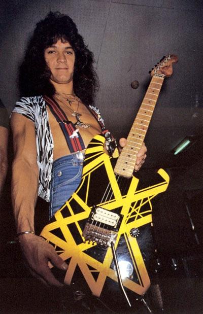 Why Didn T Eddie Van Halen Play Gibson Guitars Quora