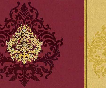 Indian Wedding Card On Theme