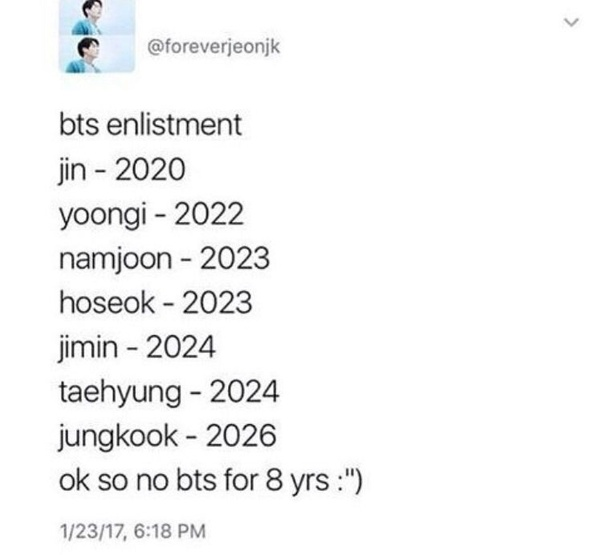 Will BTS really disband in 2019/2020? - Quora