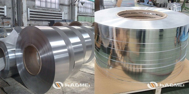Production fabrication cold rolled steel tape