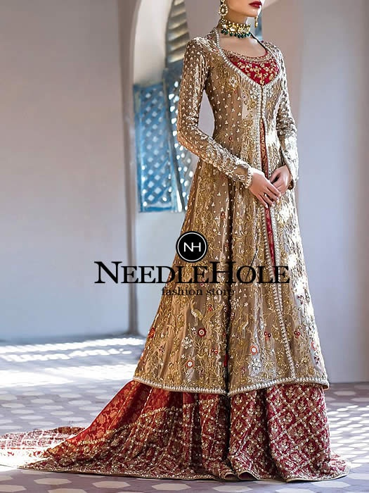 8c3413d33bc Please browse www.needlehole.com if you are looking to buy a custom Indian  Pakistani wedding dresses.