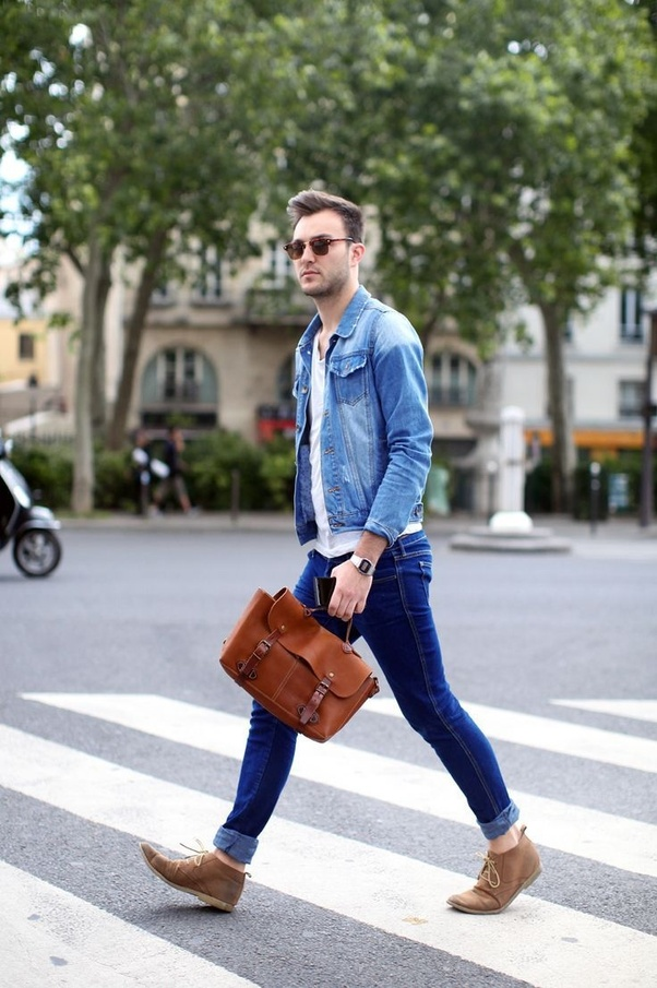 Which color shoes should I wear with blue jeans? - Quora