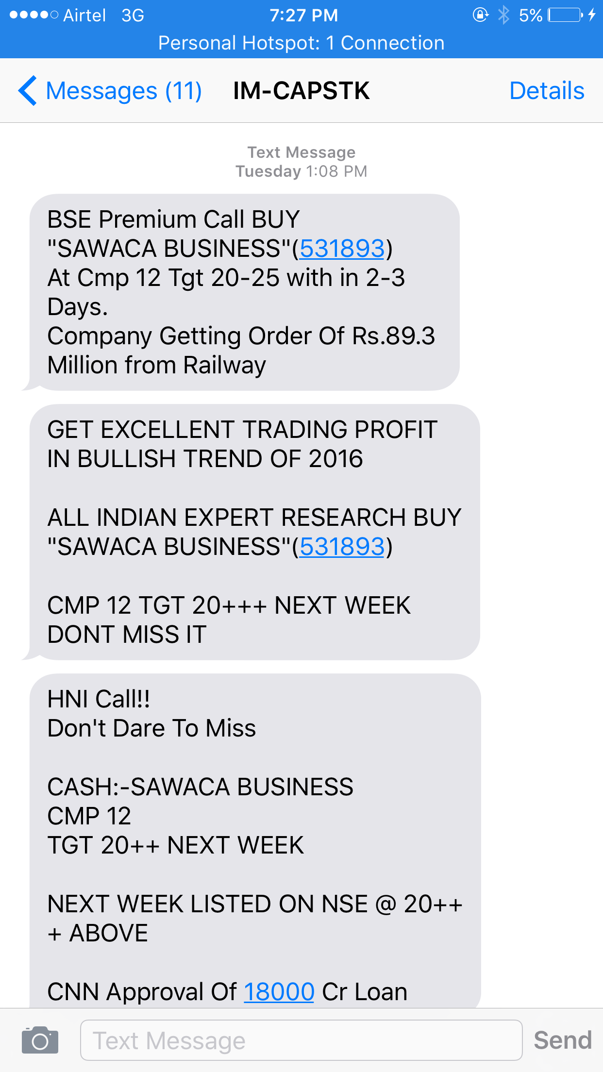Who Are The Stock Market Operators How Do They Manage Prices Circuit Breakers Work In Markets What Hell Is Sawaca Business Take A Look At Its Chart Would You Ever Buy Like This
