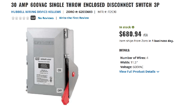 How Does A Fused Disconnect Switch And A Circuit Breaker Differ Quora