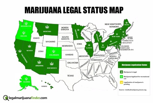 legalization of marijuana in the united It's 2018 and marijuana remains illegal in the united states but continued federal prohibition hasn't stopped the marijuana industry from growing like a very profitable weed despite what could .
