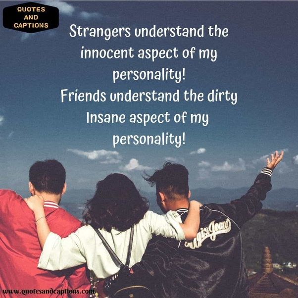 instagram caption quotes friends