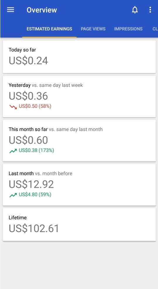 How much do you earn via your Android app [paid or free