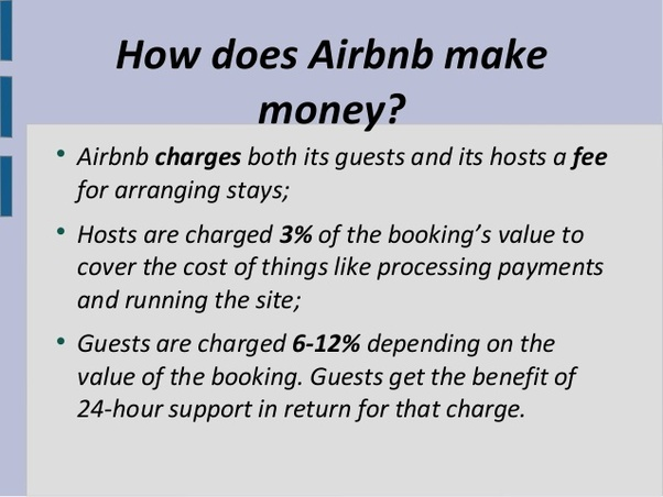 How does Airbnb make money? - Quora