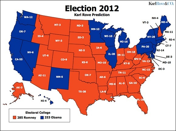 2012 US Presidential Election What happened on FOX News after