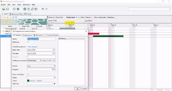 mac gantt chart software