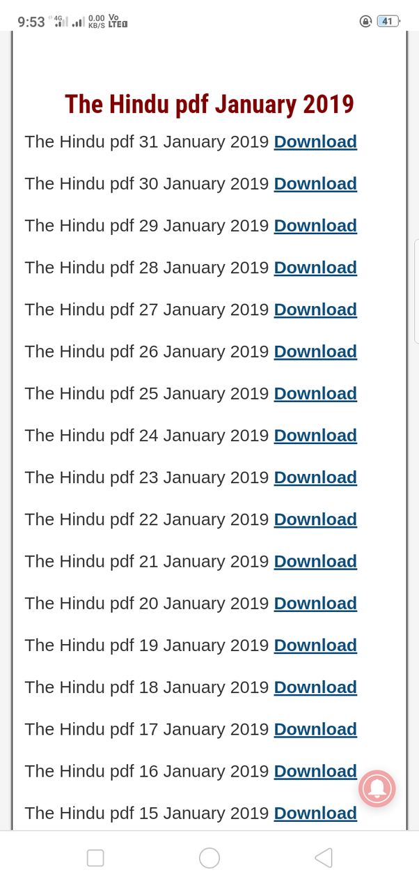 What is the best website to download the Hindu paper? - Quora