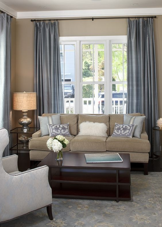 How to determine good colors for a small living room wall ...