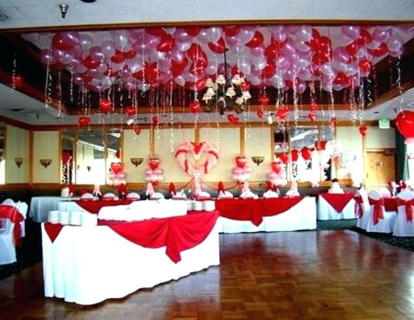 Banquet Decoration Ideas Decorating For Tables Valentine Table About Decorations On Beach