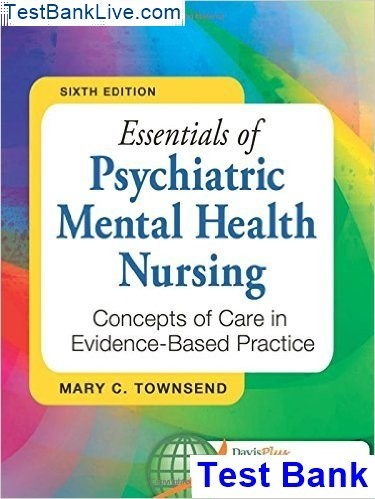 Where Can I Find A Test Bank For Psychiatric Mental Health Nursing