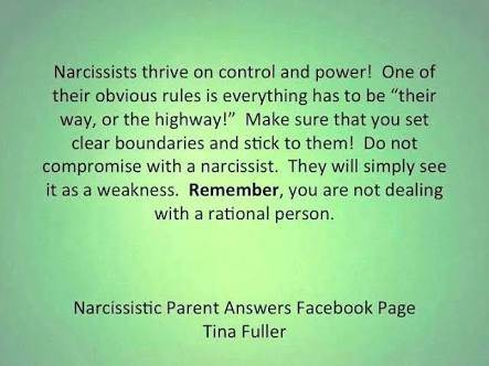How to get through to a narcissistic person