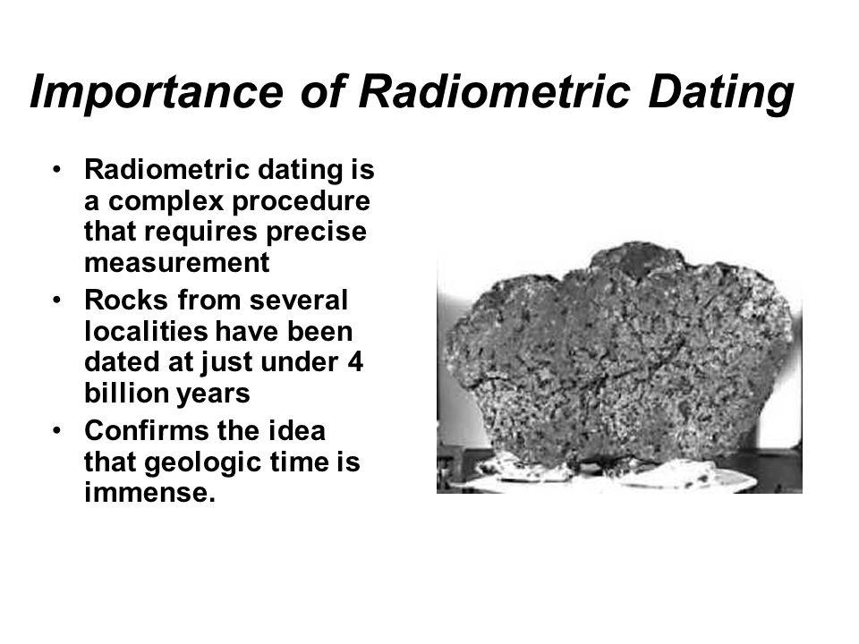 geologi radiometrisk dating