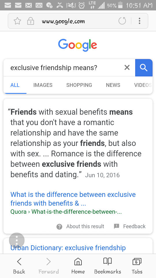 Difference between dating exclusively and being in a relationship