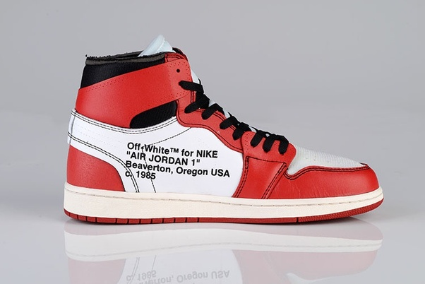 64a40dd8d Classic UA Off Whte X Nike Air Jordan 1 Shoes with Best Quality