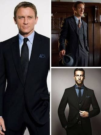 What Is The Best Formal Shirt Combination With Black Suit Quora