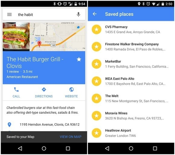 how to show all your starred locations in google maps quora