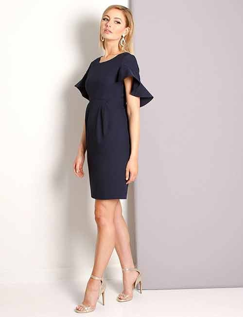 761e16acc31 What color shoes go great with a navy blue dress  - Quora