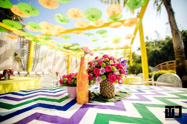 How To Decorate A Stage For Mehndi Function In India Quora