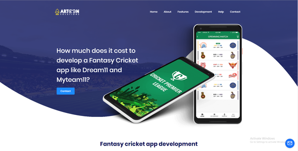 Which is the best fantasy sports app development company