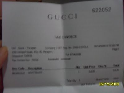 Why All Invoices Are So Boring Way Designed Quora - Gucci receipt template