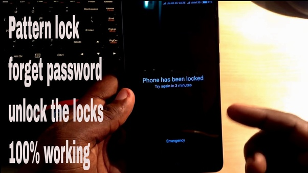 26fbcd69a6c How to reset the password of a Redmi Note 4 without losing all the ...