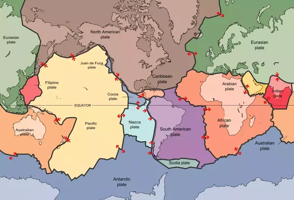 Why isnt greenland considered a continent quora here is a map of the worlds major tectonic plates gumiabroncs Gallery
