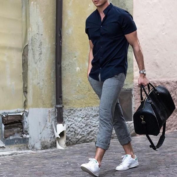 Men Shoe Colors To Match Black Pants